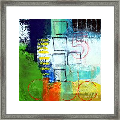 Playground Framed Print by Linda Woods