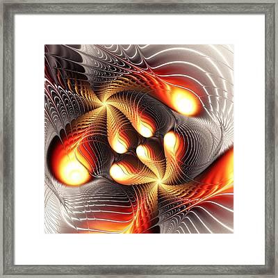 Playing Dragons Framed Print by Anastasiya Malakhova