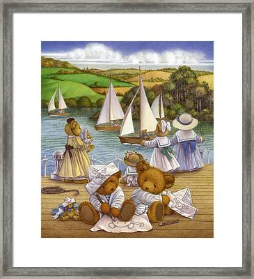 Playing Pirates I Framed Print by Carol Lawson