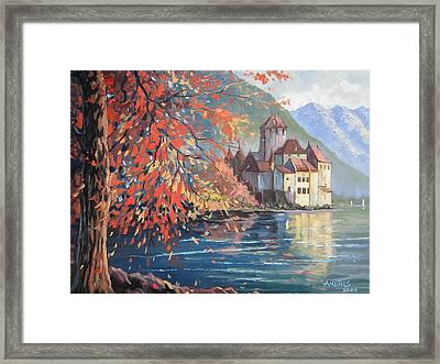 Playing With Colours Framed Print by Andrei Attila Mezei