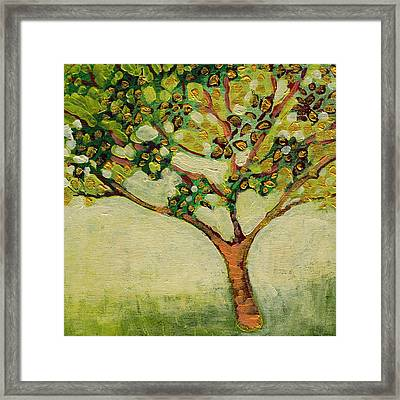 Plein Air Garden Series No 8 Framed Print by Jennifer Lommers
