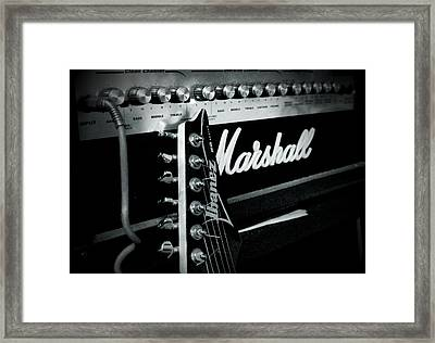 Plugged In Framed Print by Cindy Nunn