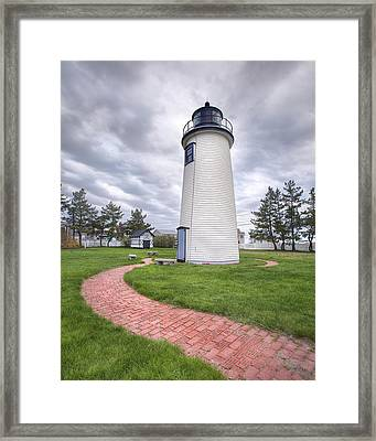 Plum Island Lighthouse Framed Print by Eric Gendron