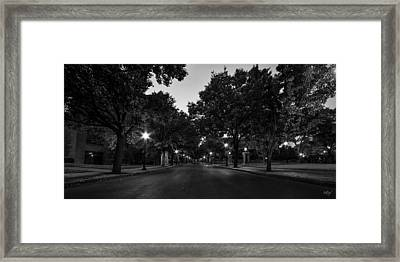 Plum Street To Franklin Square Framed Print by Everet Regal