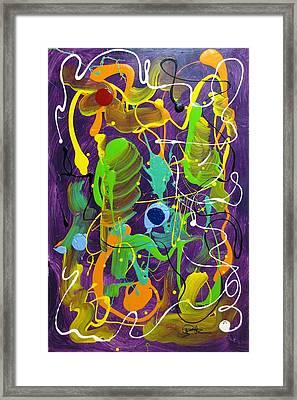 Plum Wild Framed Print by Bill Herold