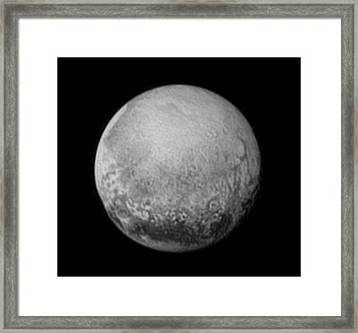 Pluto Framed Print by Nasa/jhuapl/swri
