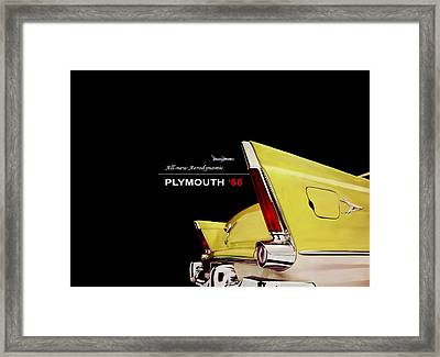 Plymouth '56 Framed Print by Mark Rogan