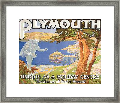Plymouth Framed Print by Frederick Hammersley Ball