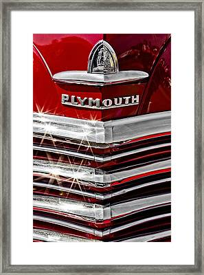 Plymouth Pride Framed Print by Caitlyn  Grasso