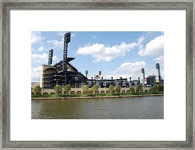 Pnc Park Framed Print by Michael Lynch