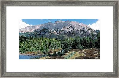 Pocaterra Framed Print by Terry Reynoldson