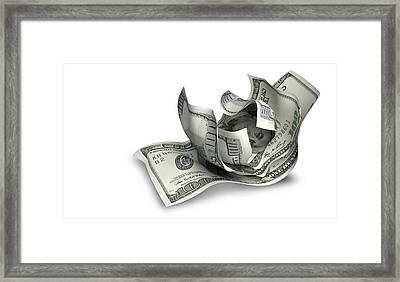 Pocket Change Framed Print by Allan Swart