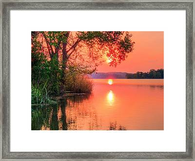 Pohick Bay Framed Print by JC Findley