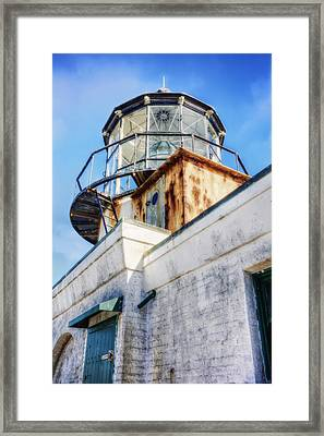 Point Bonita Lighthouse - Marin Headlands 6 Framed Print by The  Vault - Jennifer Rondinelli Reilly