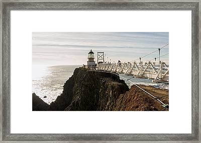 Point Bonita Lighthouse Framed Print by Georgia Fowler
