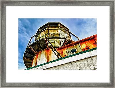 Point Bonita Lighthouse Framed Print by Robert Rus