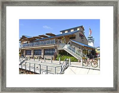 Point Loma Seafoods And Cafe California. Framed Print by Gino Rigucci