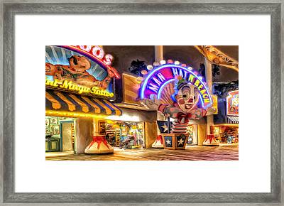 Point Mugu Tattoo Framed Print by Michael Pickett