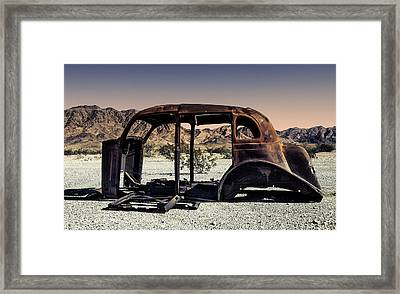 Point Of View Framed Print by Sandra Selle Rodriguez