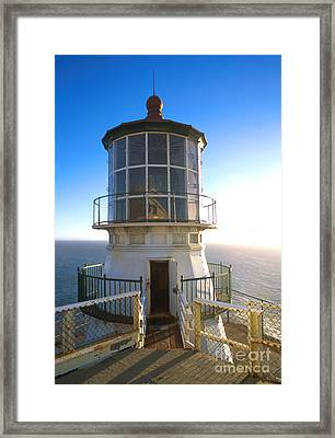 Point Reyes Lighthouse California Framed Print by Jerry McElroy