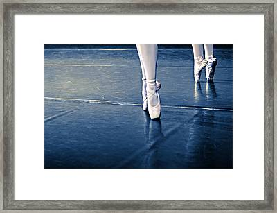 Pointe Framed Print by Laura Fasulo