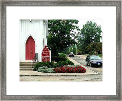 Points Of View Framed Print by Kip DeVore