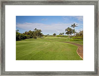 Poipu Bay #1 Framed Print by Scott Pellegrin