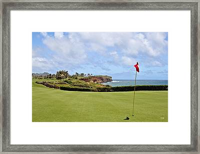 Poipu Bay #16 Framed Print by Scott Pellegrin