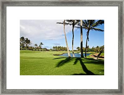 Poipu Bay #18 Framed Print by Scott Pellegrin