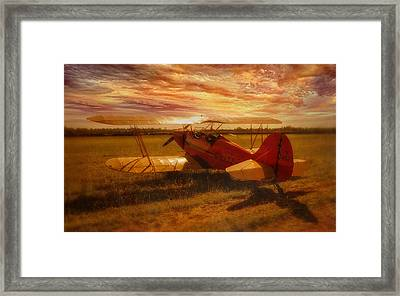 Poised Framed Print by Jason Green