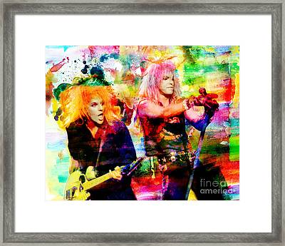 Poison Original Painting Print Framed Print by Ryan Rock Artist