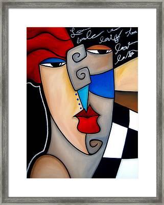 Poker Face By Fidostudio Framed Print by Tom Fedro - Fidostudio