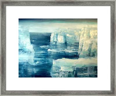 Polar Bear Framed Print by Charlie Baird