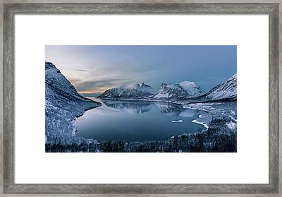 Polar Night Framed Print by Tomasz Wozniak