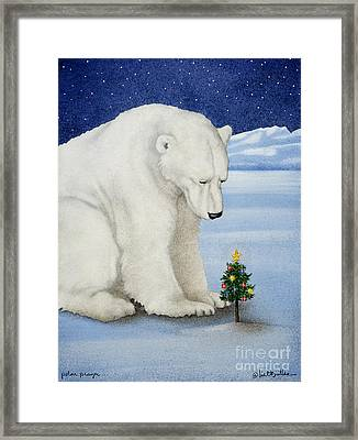 Polar Prayer... Framed Print by Will Bullas