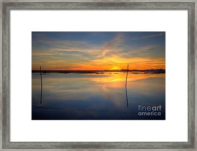 Poles Apart  Framed Print by English Landscapes