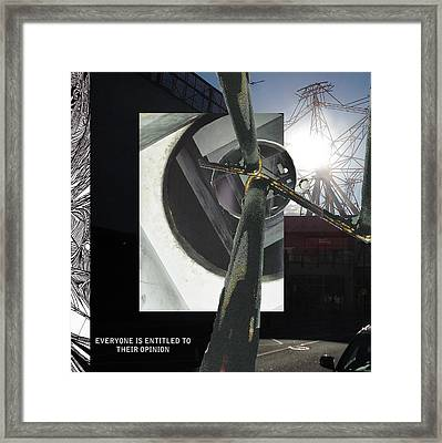 Poles Apart Framed Print by Will Brodie