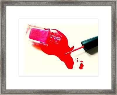 Polished Framed Print by Diana Angstadt