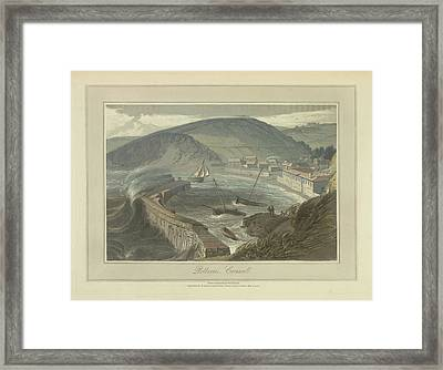 Polkerris Framed Print by British Library