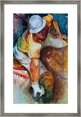 Polo Player Framed Print by Jani Freimann
