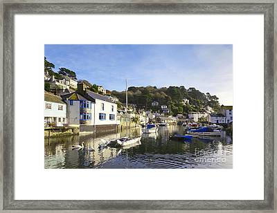 Polperro Cornwall England Framed Print by Colin and Linda McKie