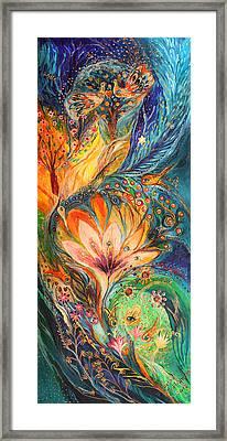Polyptich Part I - Water Framed Print by Elena Kotliarker