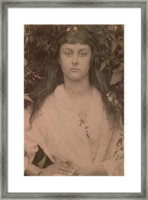 Pomona Framed Print by Julia Margaret Cameron