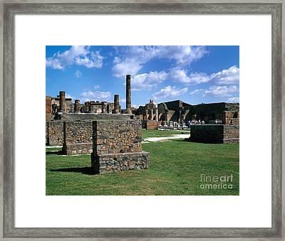 Pompeii Framed Print by Rafael Macia