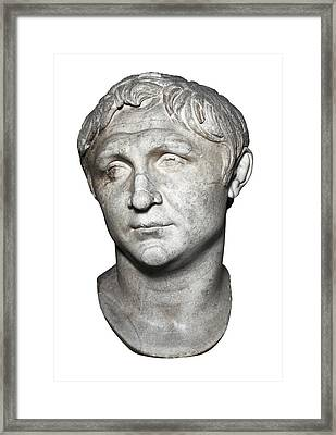 Pompey The Great 106-48 Bc. Roman Framed Print by Everett