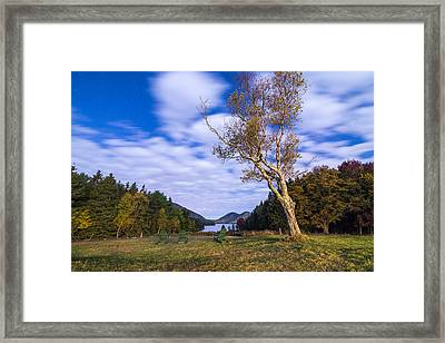 Pond House Views Framed Print by Kristopher Schoenleber