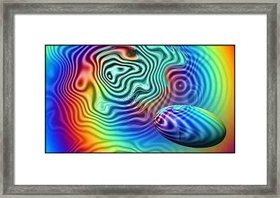 Pond Framed Print by Julian Porter