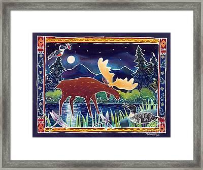 Pond Life Framed Print by Harriet Peck Taylor