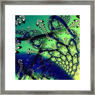 Pond Life Framed Print by Sharon Lisa Clarke