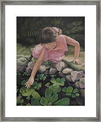 Pond Magic Framed Print by Holly Kallie